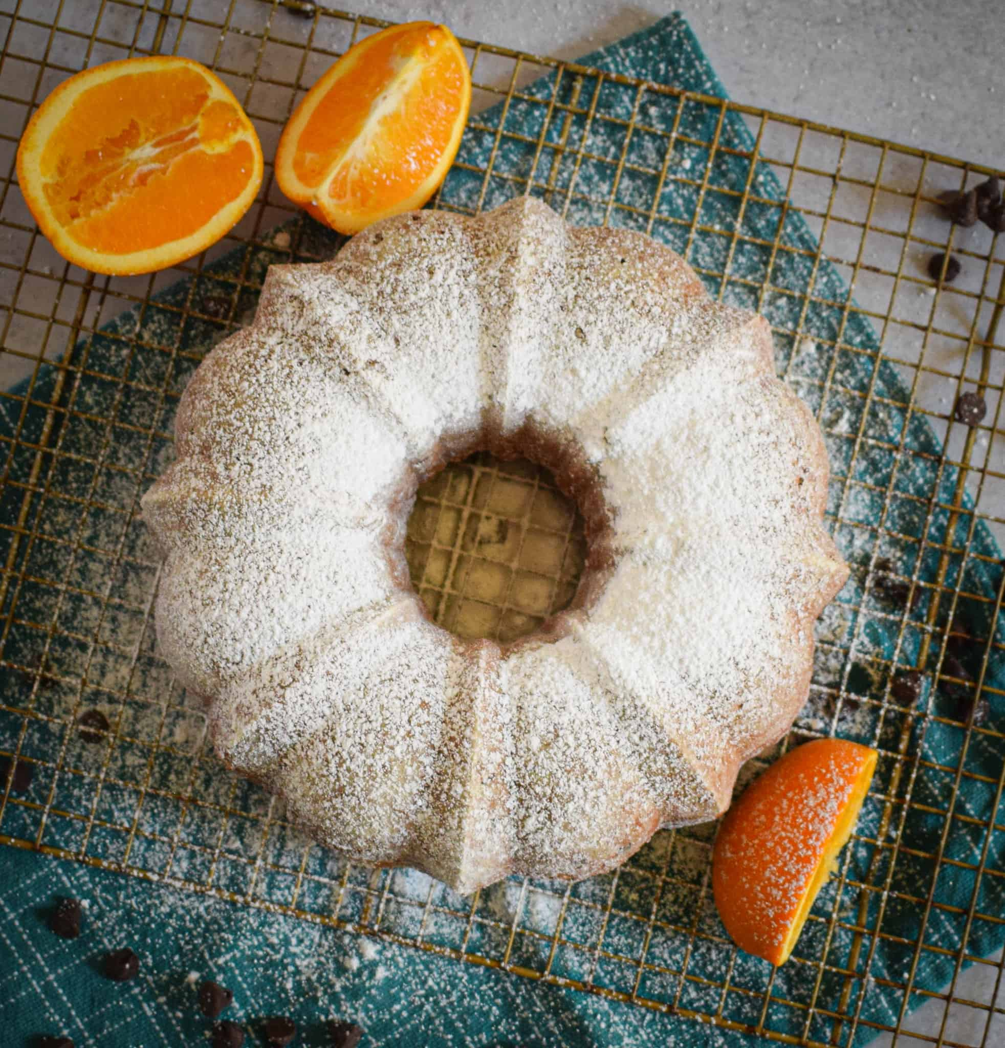 orange ricotta cake