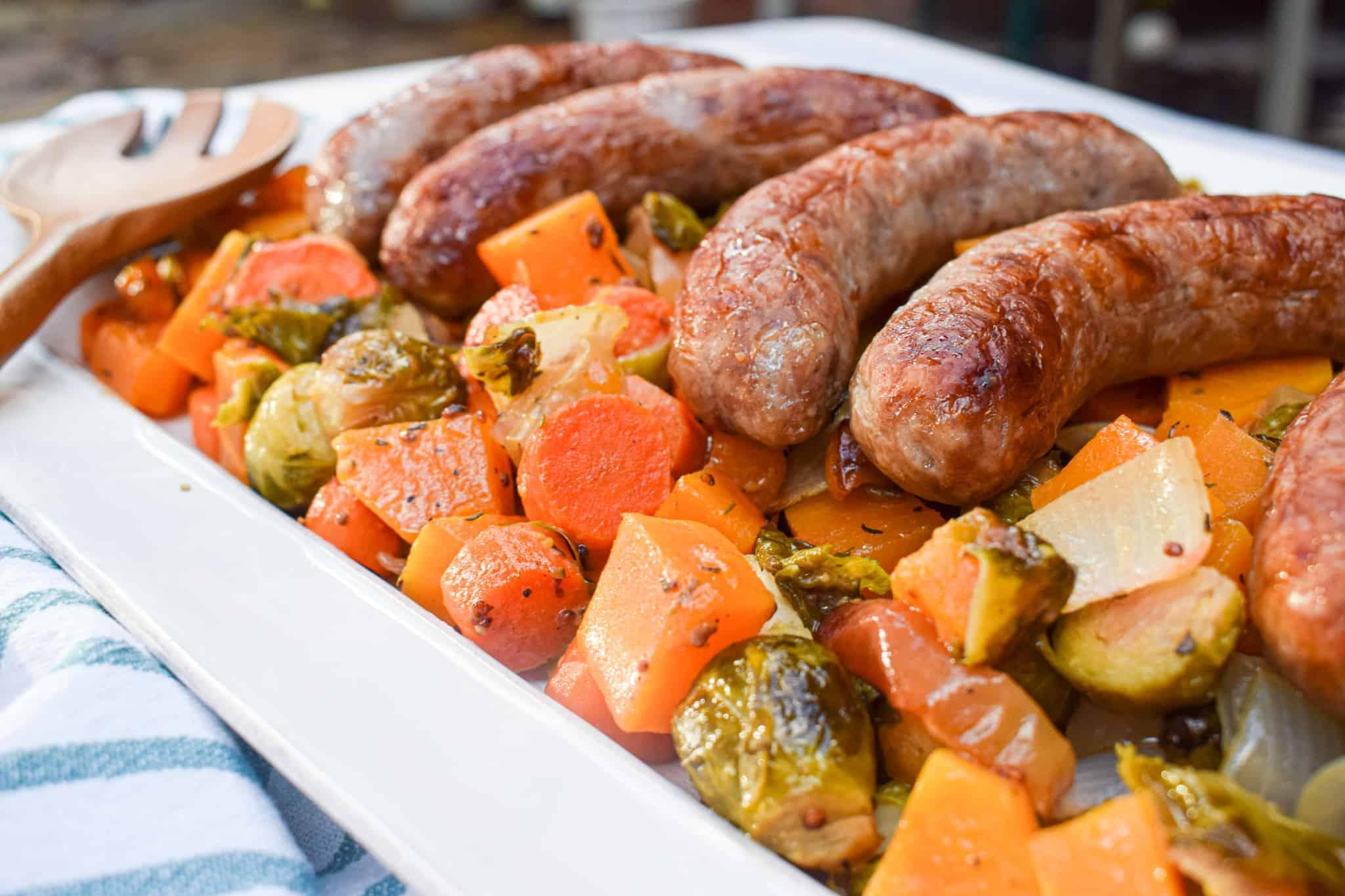 one pan fall bratwurst recipe
