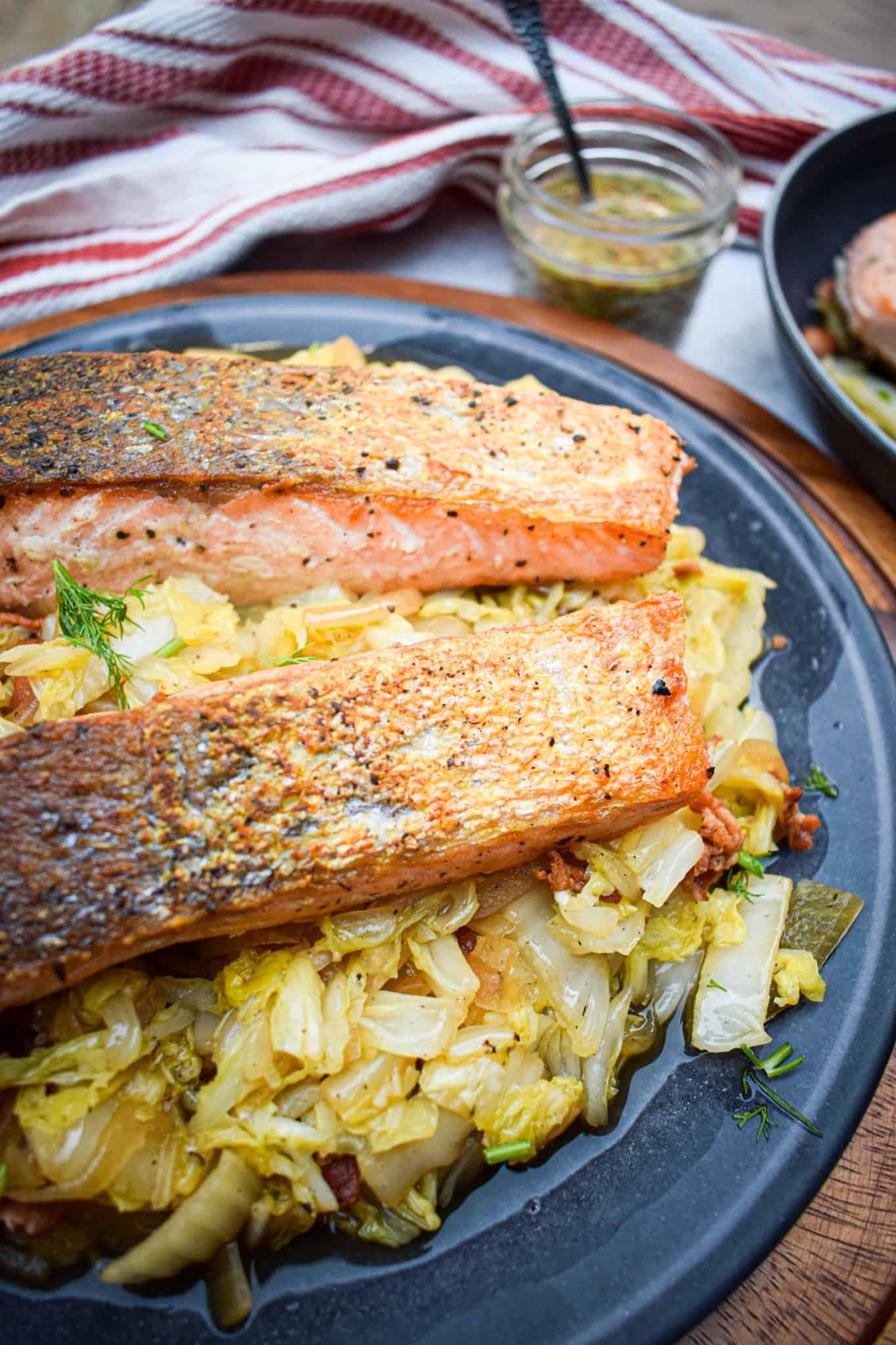 whole30 pan seared salmon