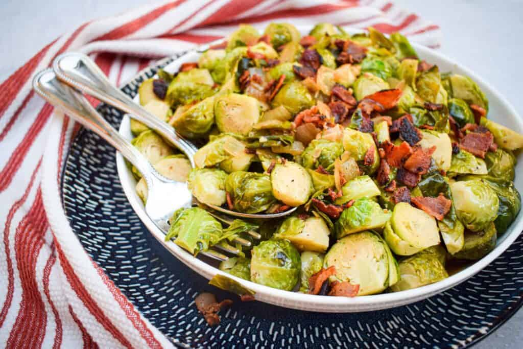 Thanksgiving brussel sprouts