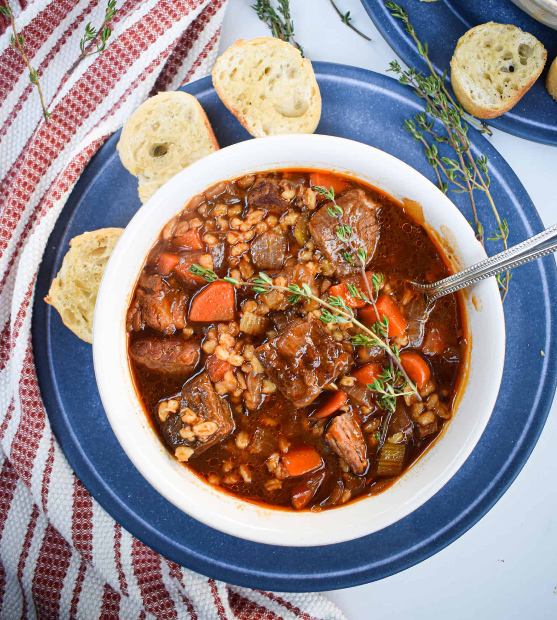 beef and barley stew with guiness