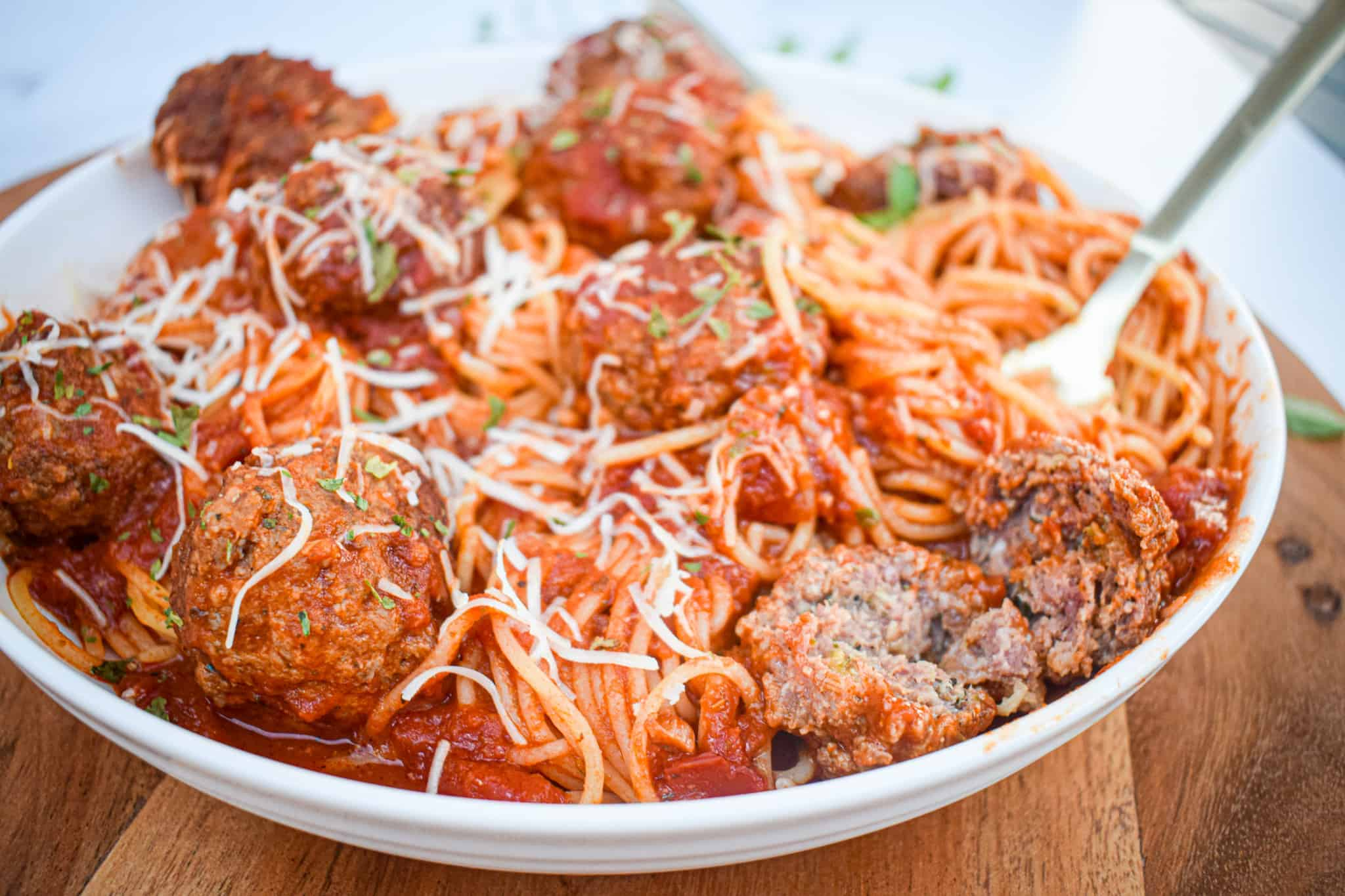 the best classic spaghetti and meatballs