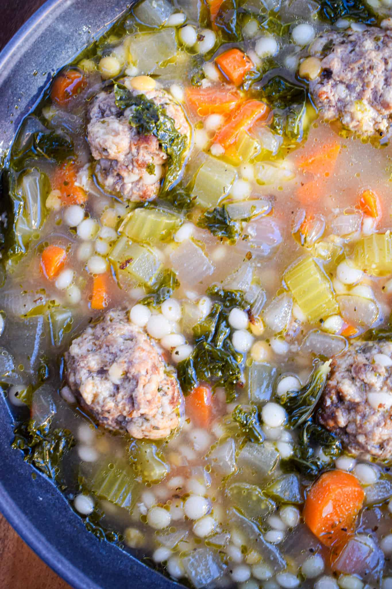 best Italian wedding soup recipe by the jam jar kitchen