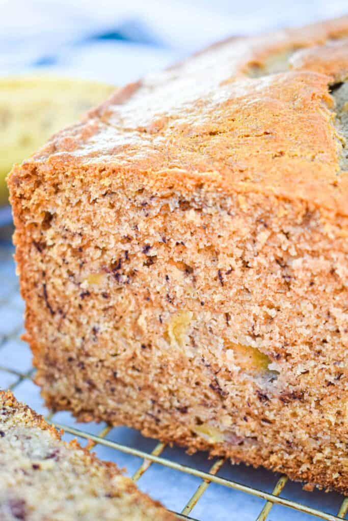 perfect quick and easy banana bread