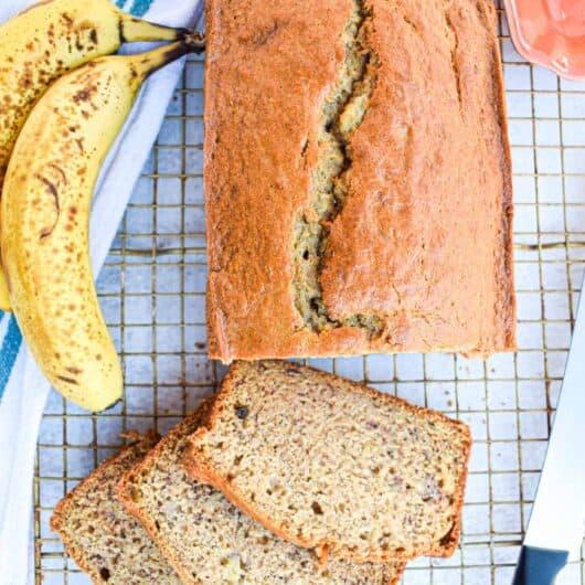 The Best Easy Banana Bread