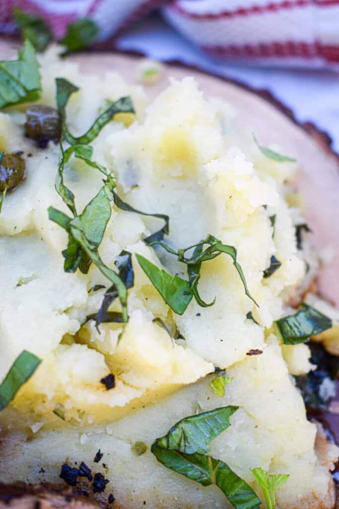 whole30 basil truffle mashed potatoes dairy-free and gluten-free