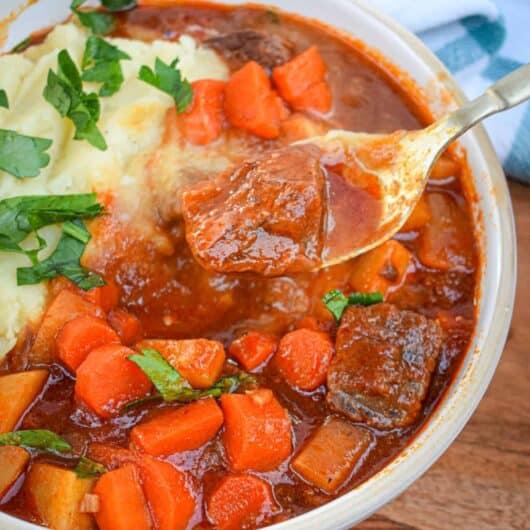 Whole30 Beef & Root Vegetable Stew