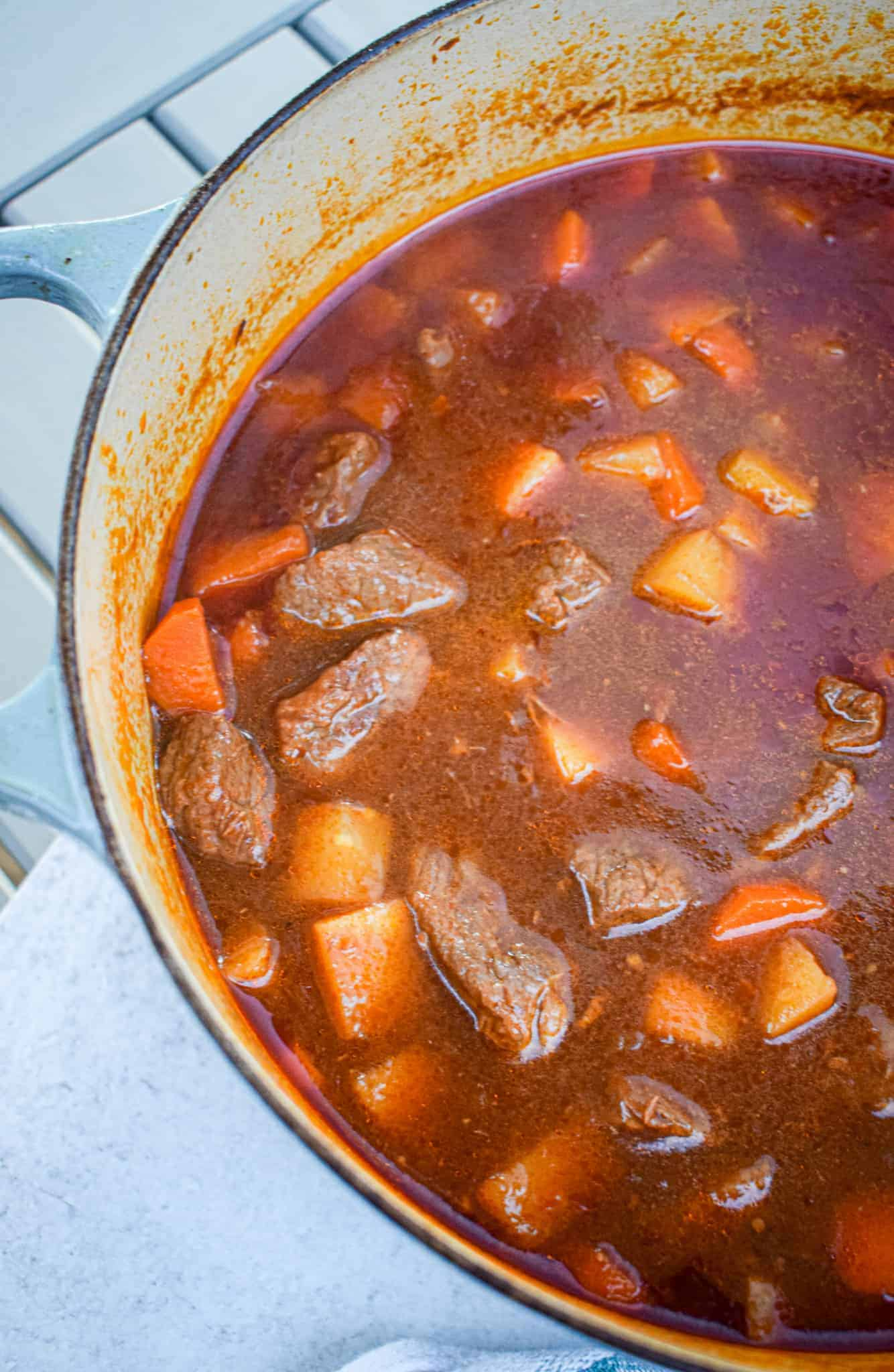 Low Carb Keto Whole30 Paleo Beef Stew