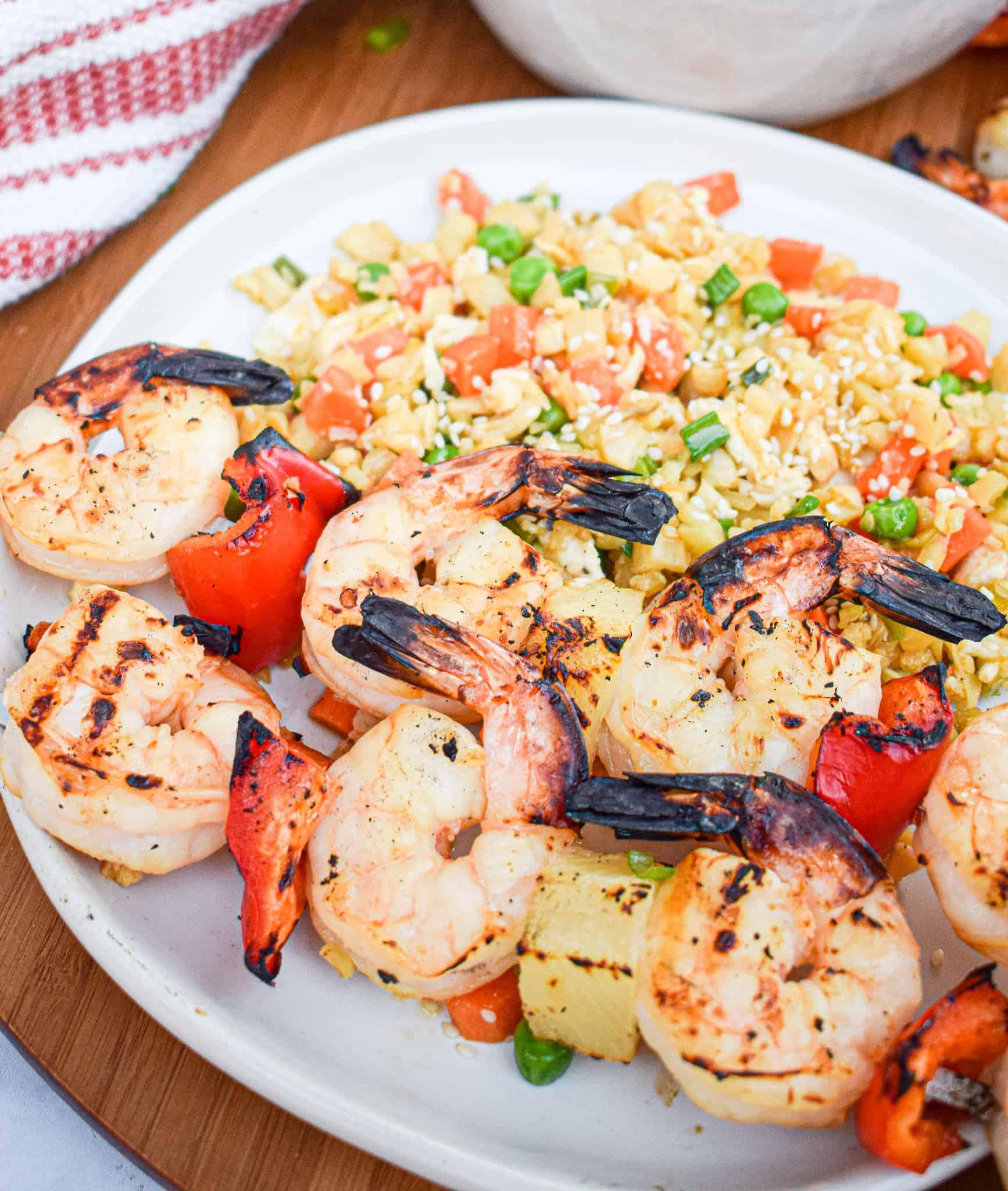 whole30 grilled shrimp