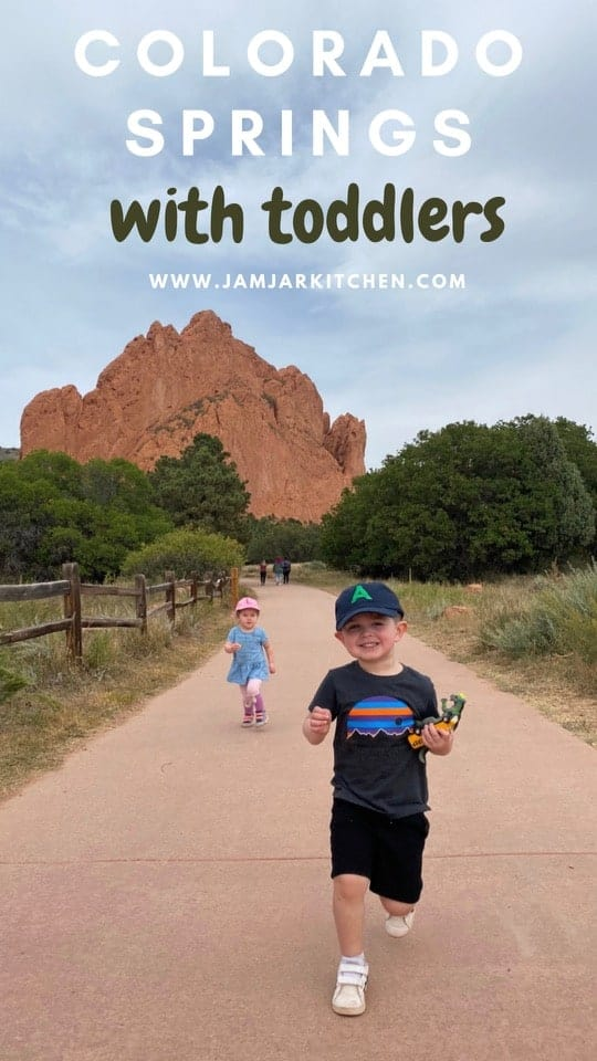 colorado springs with toddlers garden of the gods