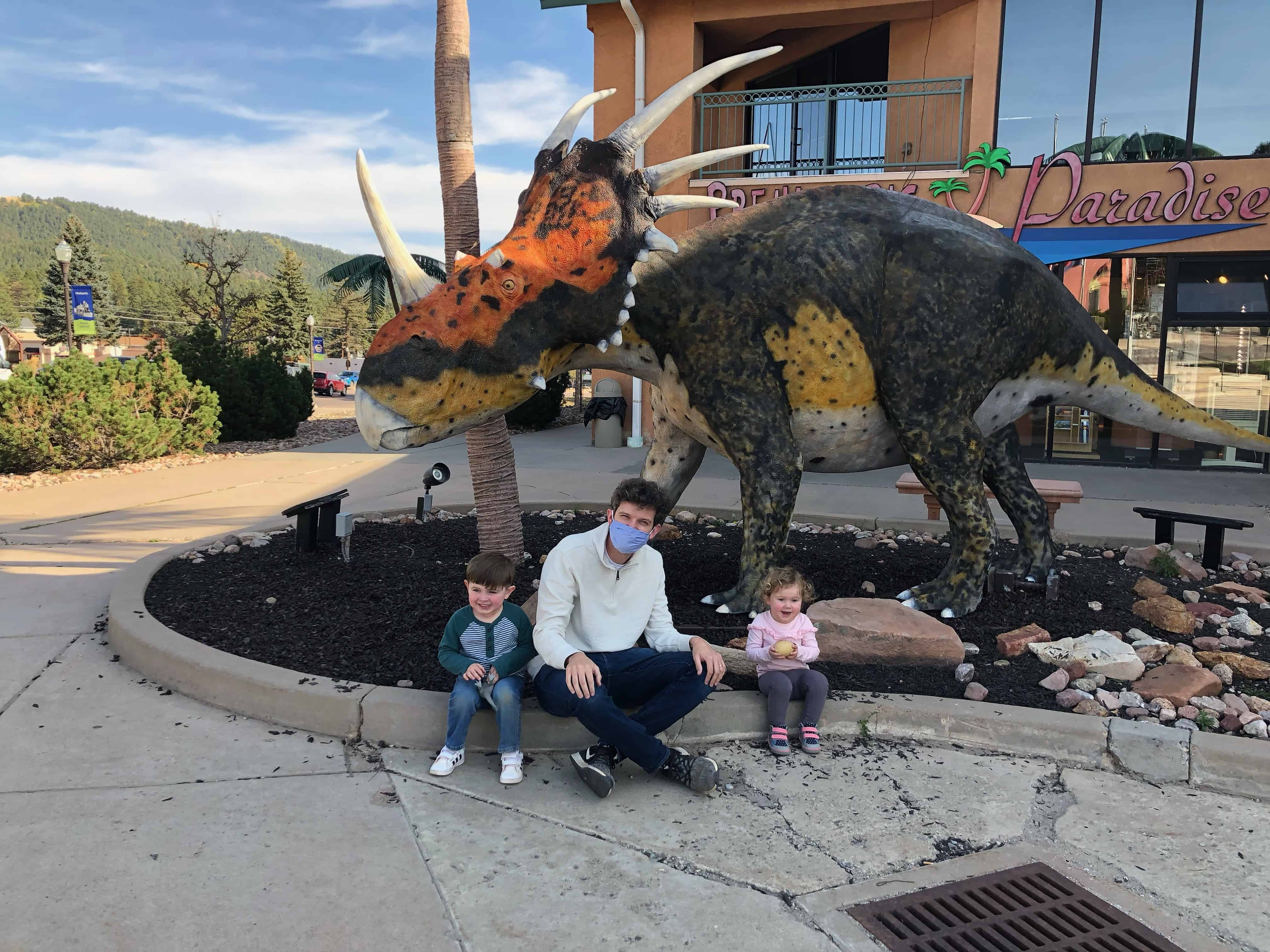 Dinosaur Resource Center in Colorado Springs with toddlers