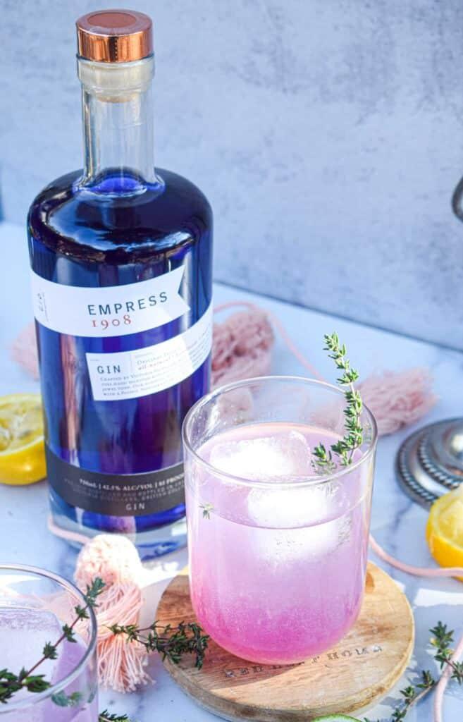 empress gin cocktail recipe by the jam jar kitchen
