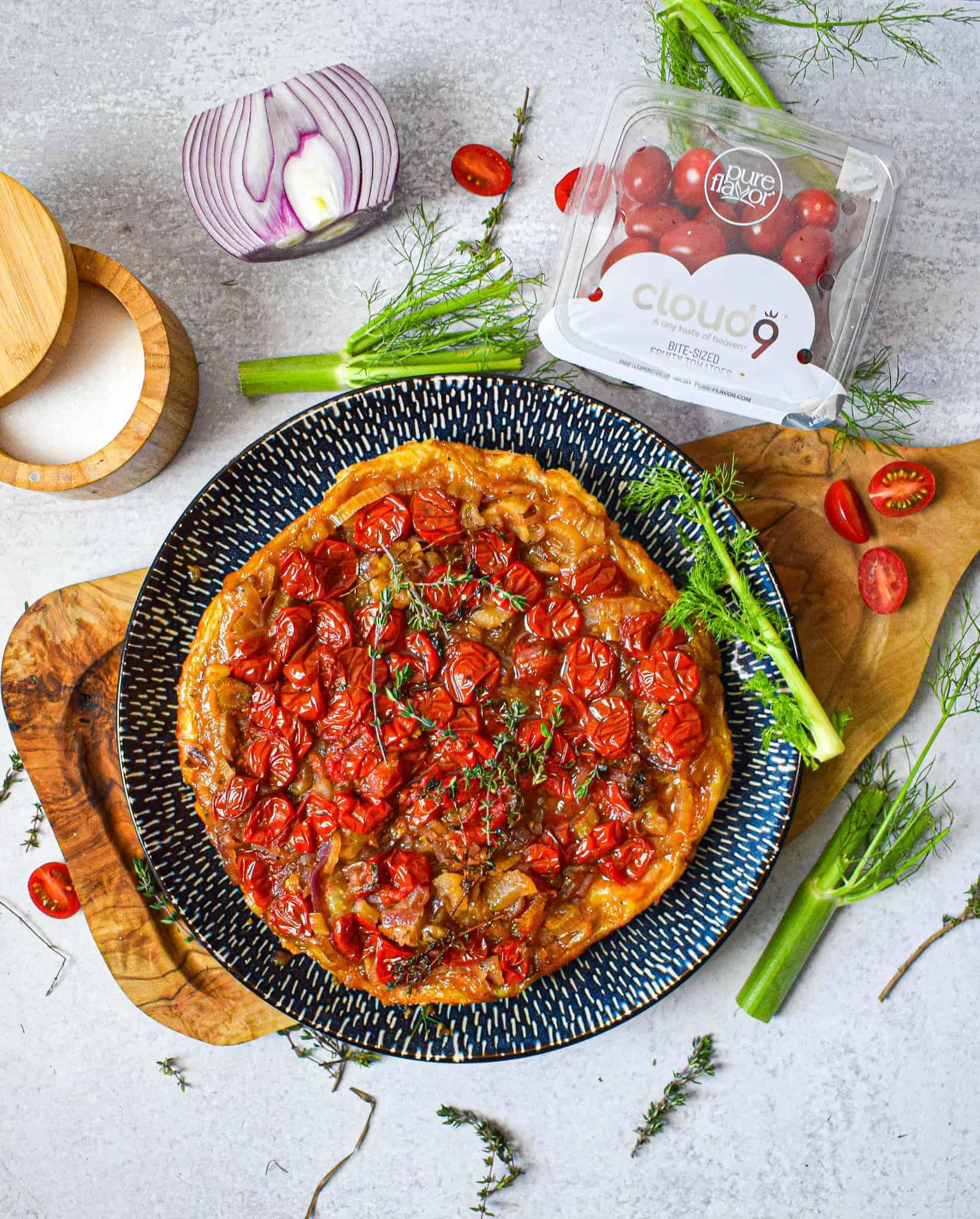 tomato tarte tatin recipe