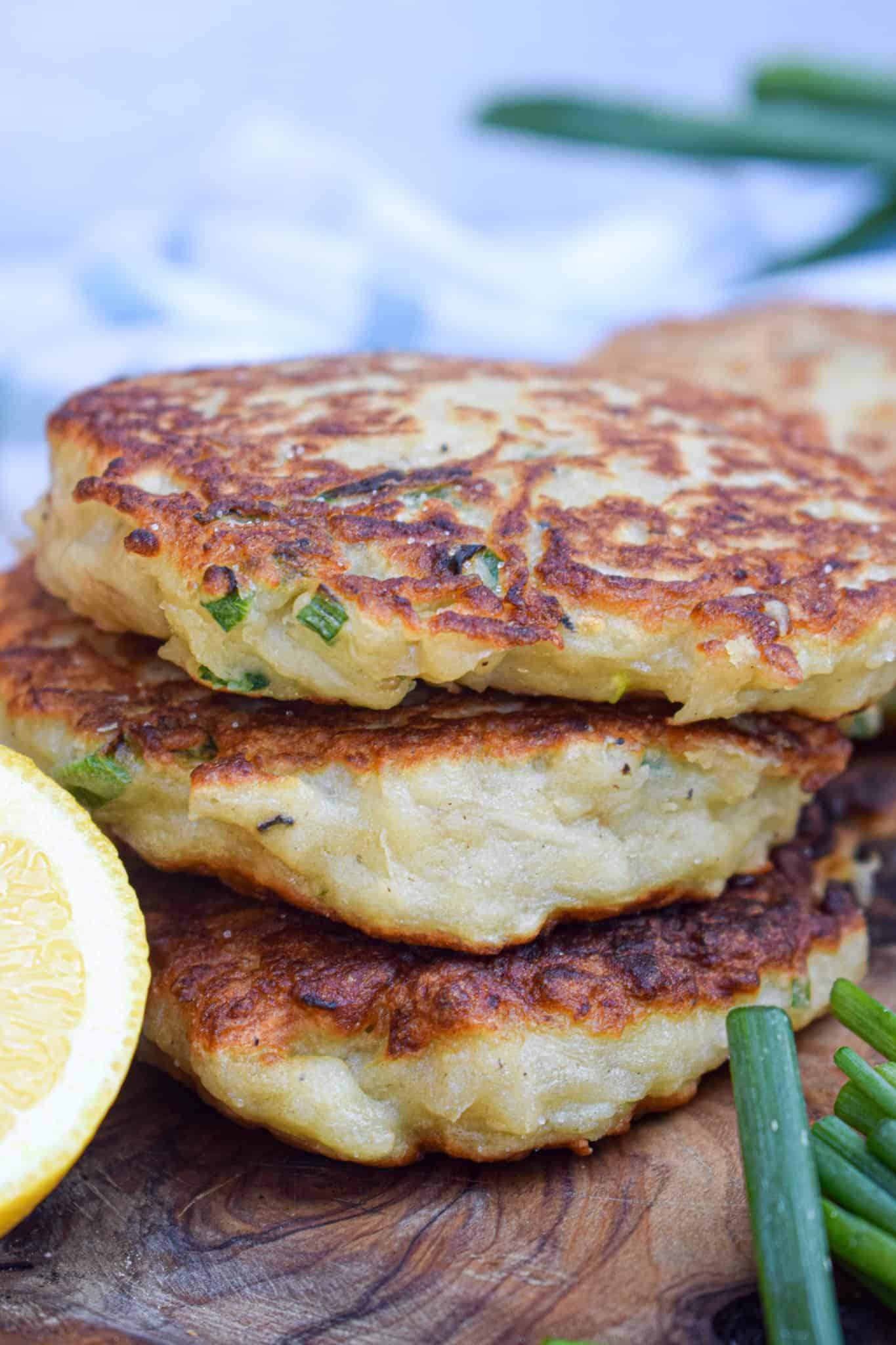 Irish Boxty potato pancake
