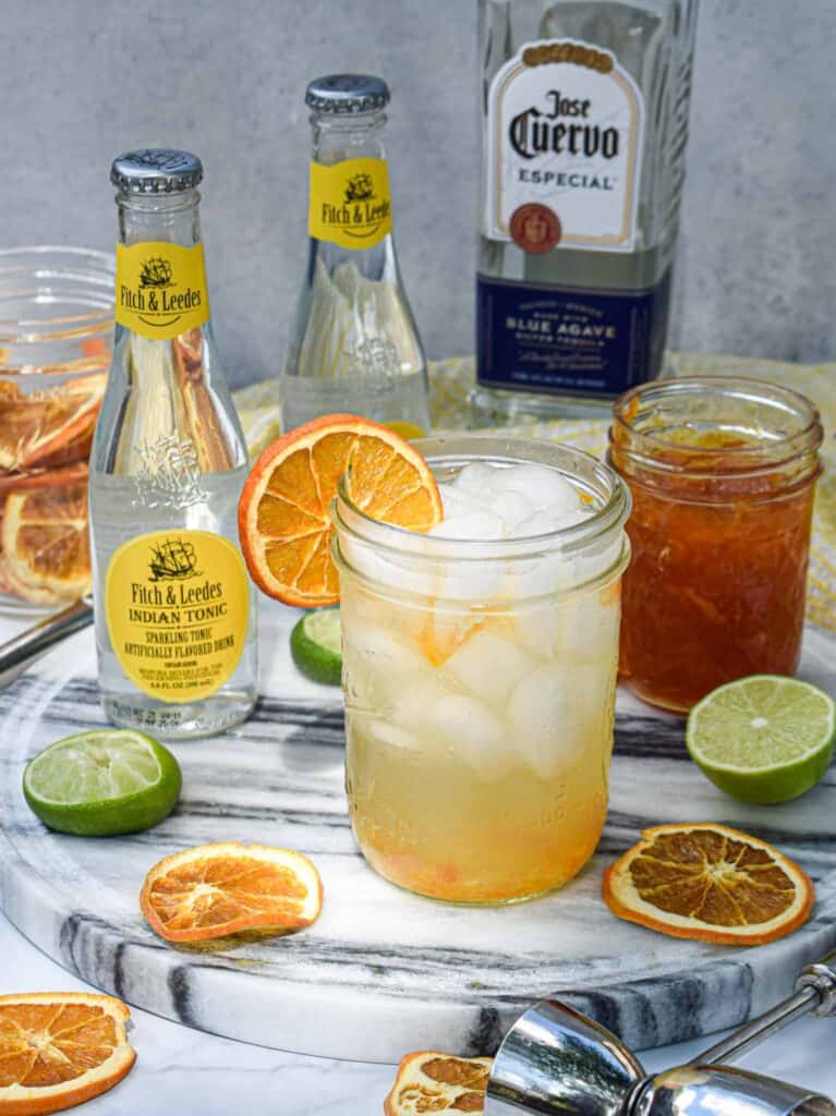 Marmalade Tequila Tonic by The Jam Jar Kitchen
