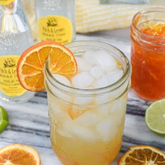 Marmalade Tequila Smash