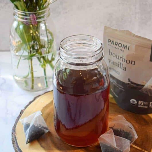 Tea Infused Simple Syrup