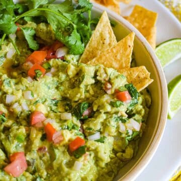 my favorite easy homemade guacamole by the jam jar kitchen