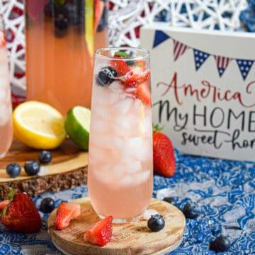 4th of july drink recipe no food dye