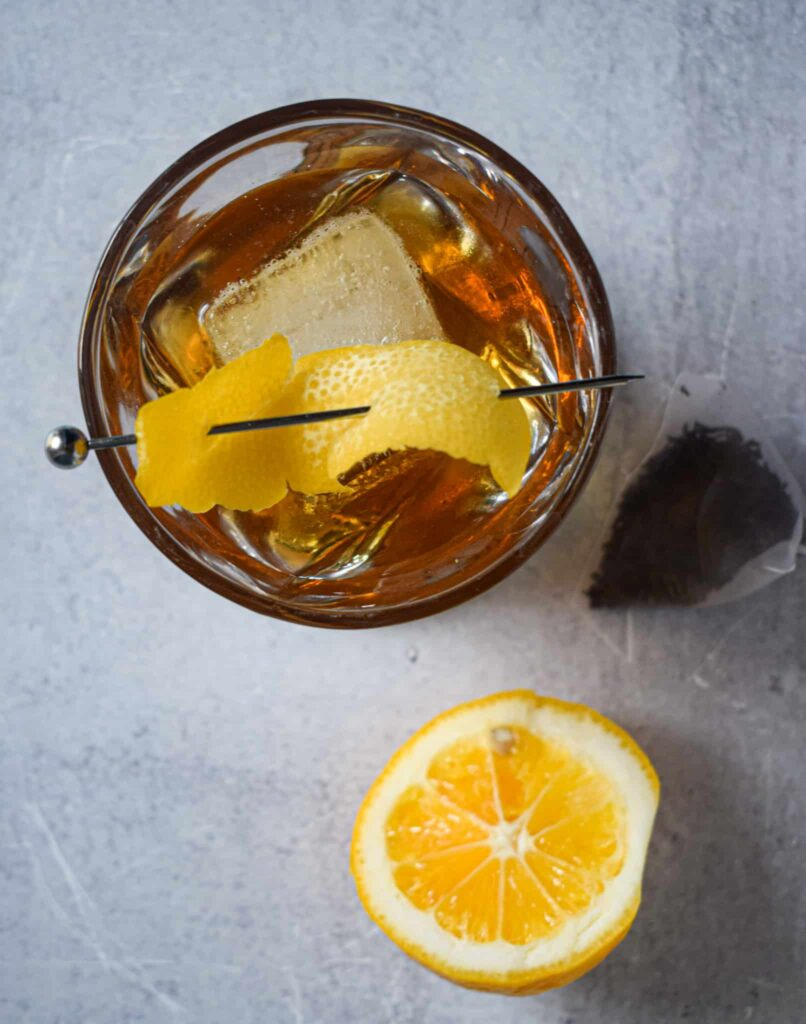sweet tea old fashioned