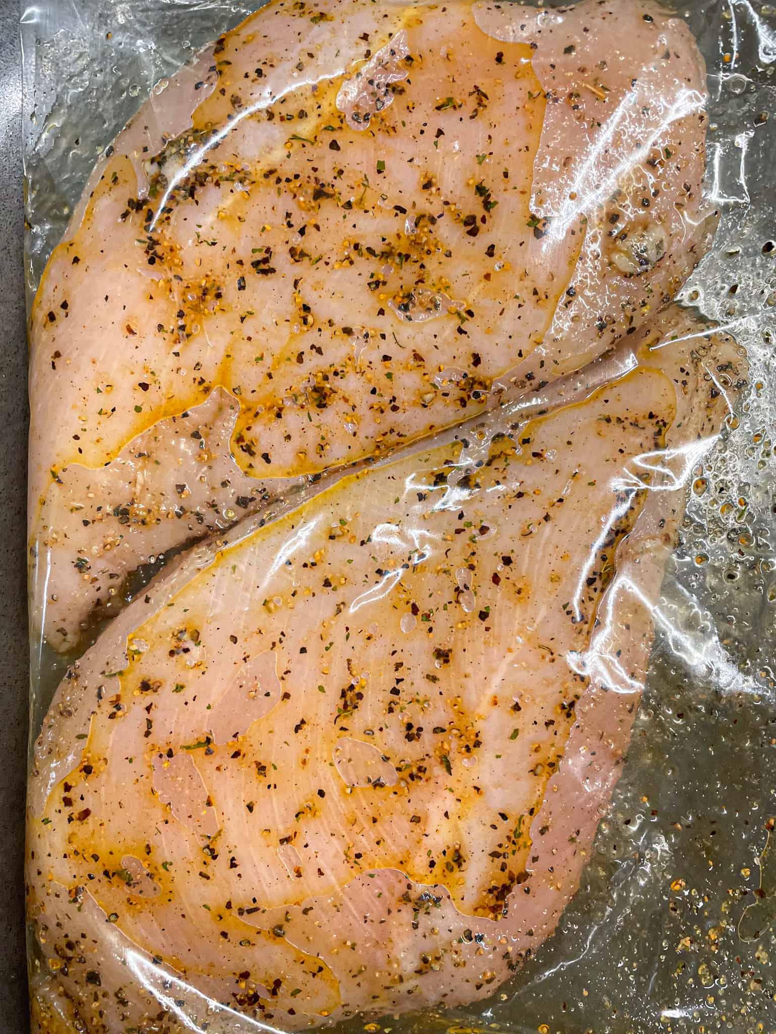 marinating chicken breast