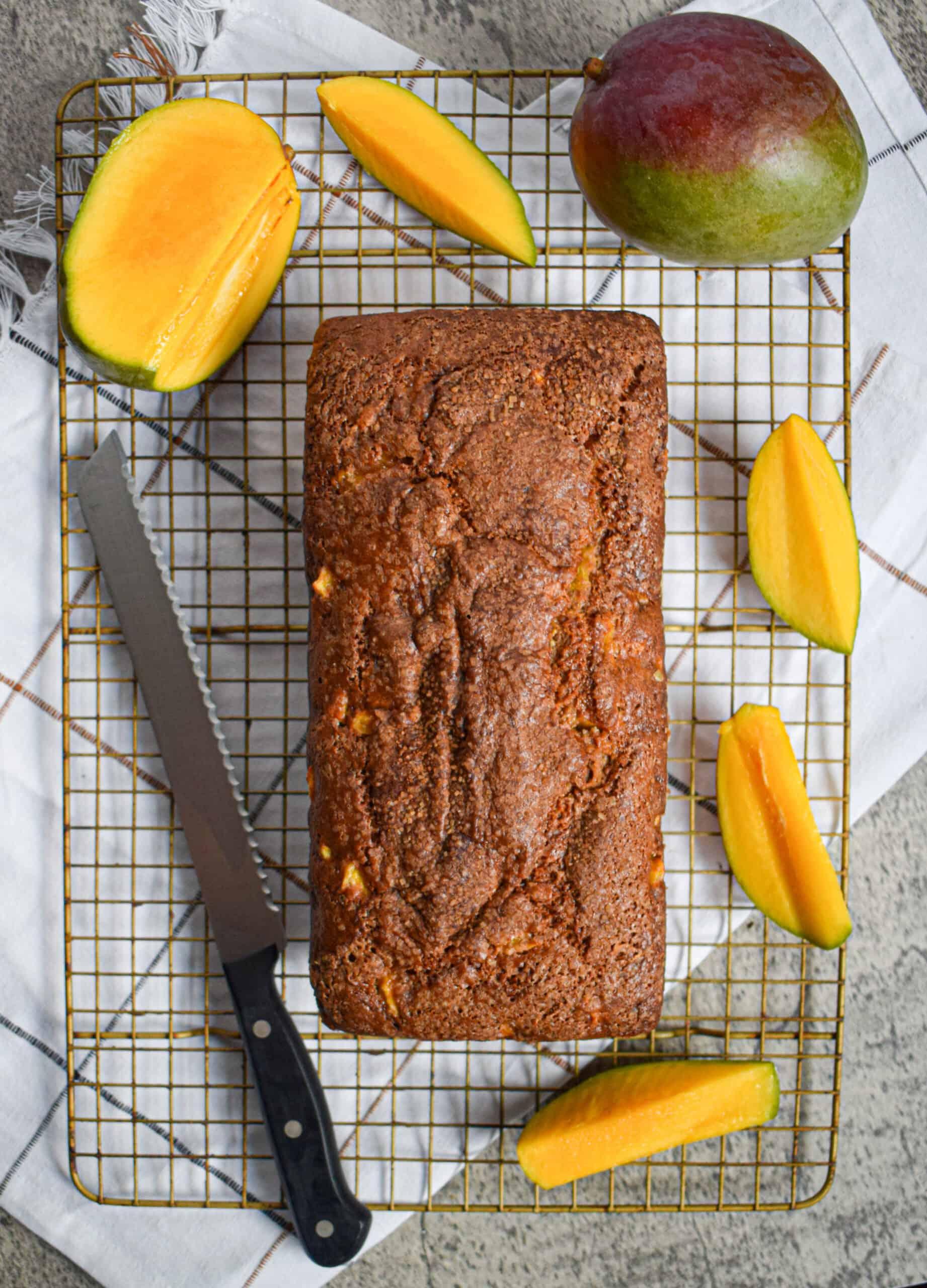 the best easy mango bread recipe