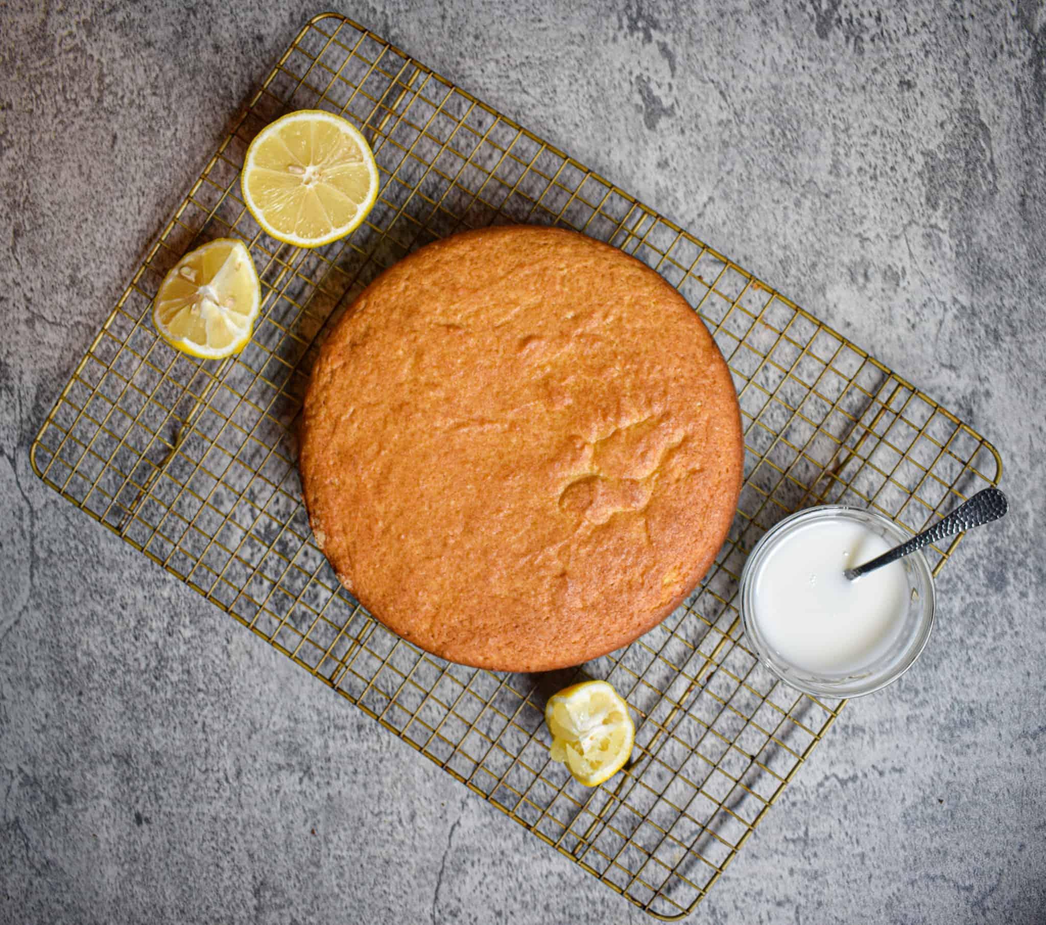 lemon ricotta olive oil cake