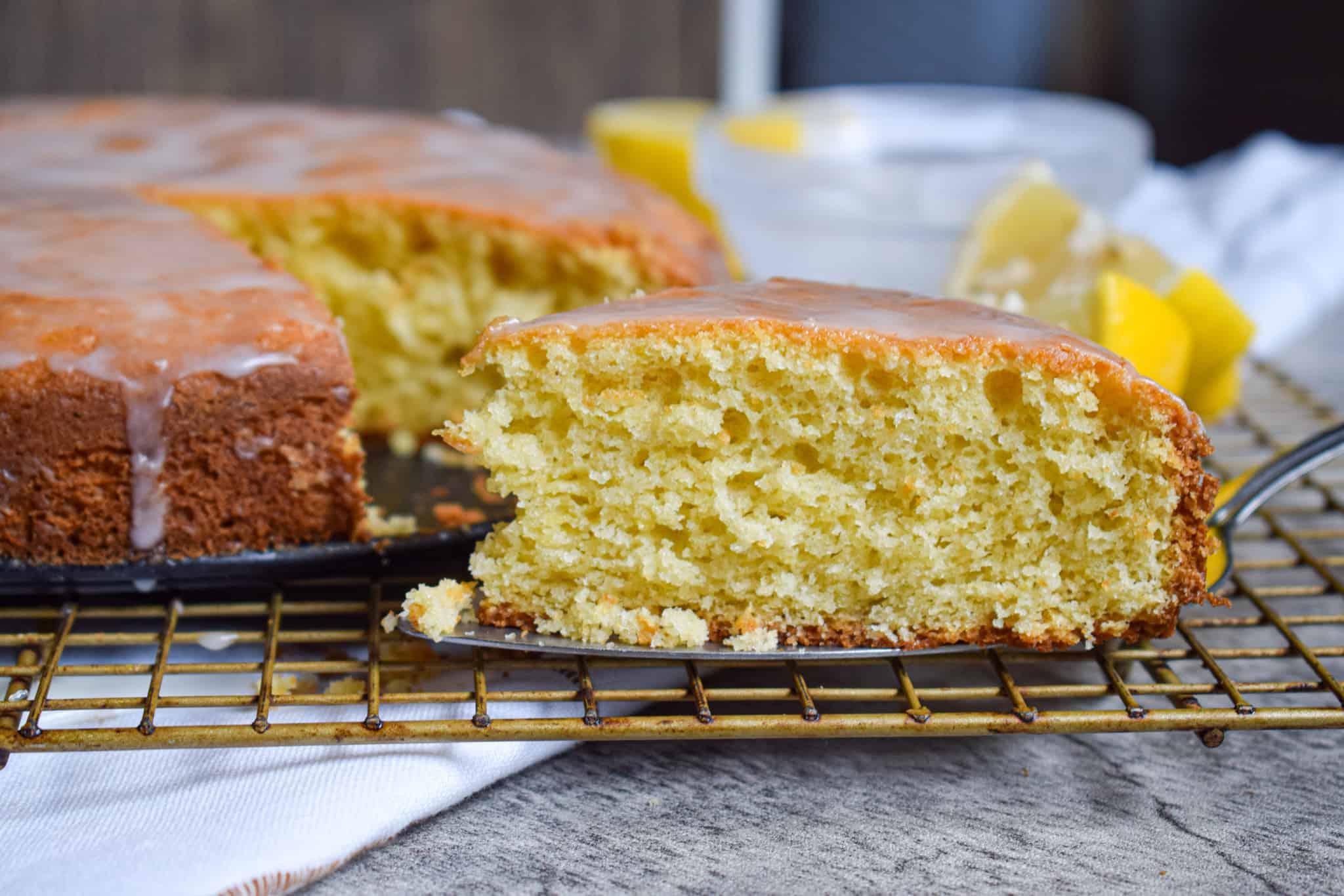 easy lemon ricotta cake