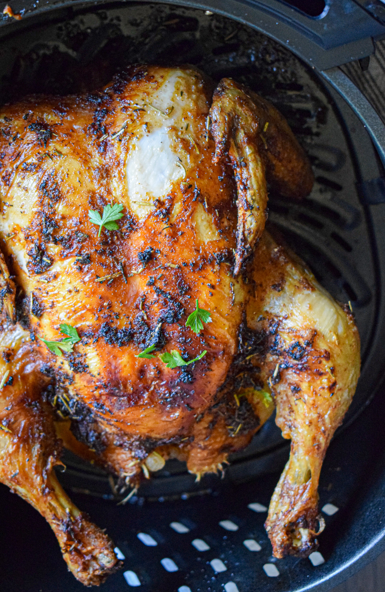 how to cook a whole chicken in the air fryer