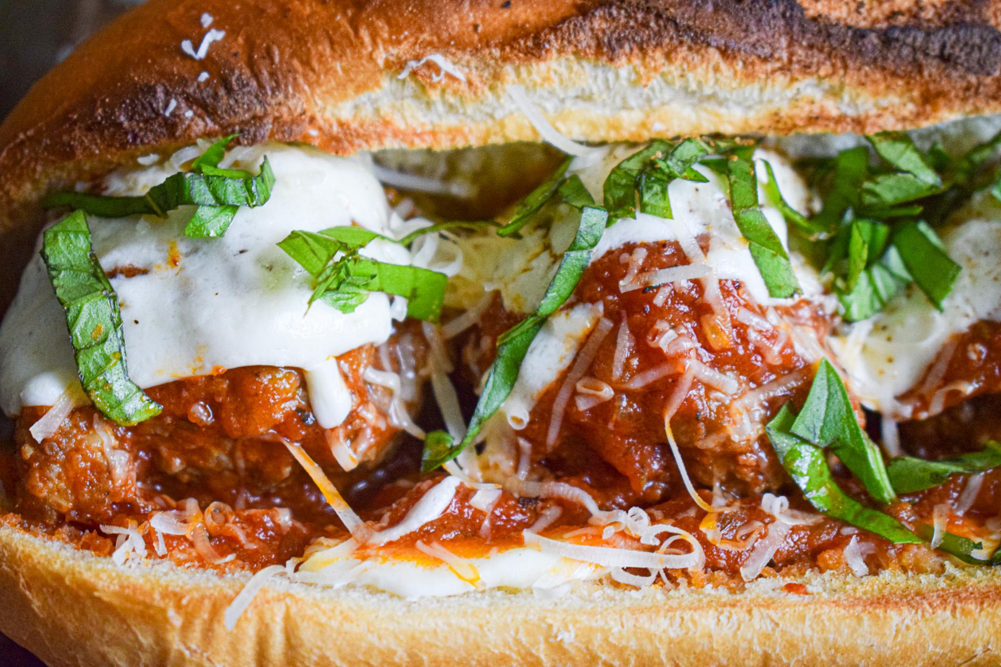 homemade italian meatball sub sandwich recipe