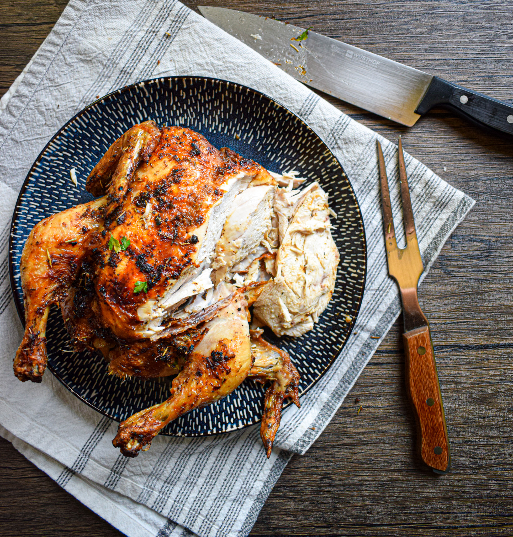 paleo whole30 keto air fryer whole chicken
