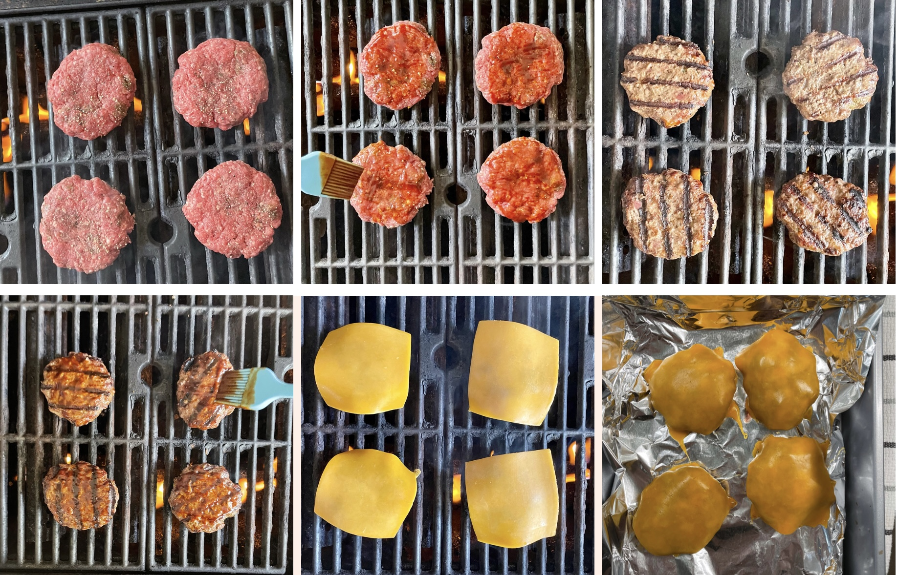 how to grill bbq ranch burgers