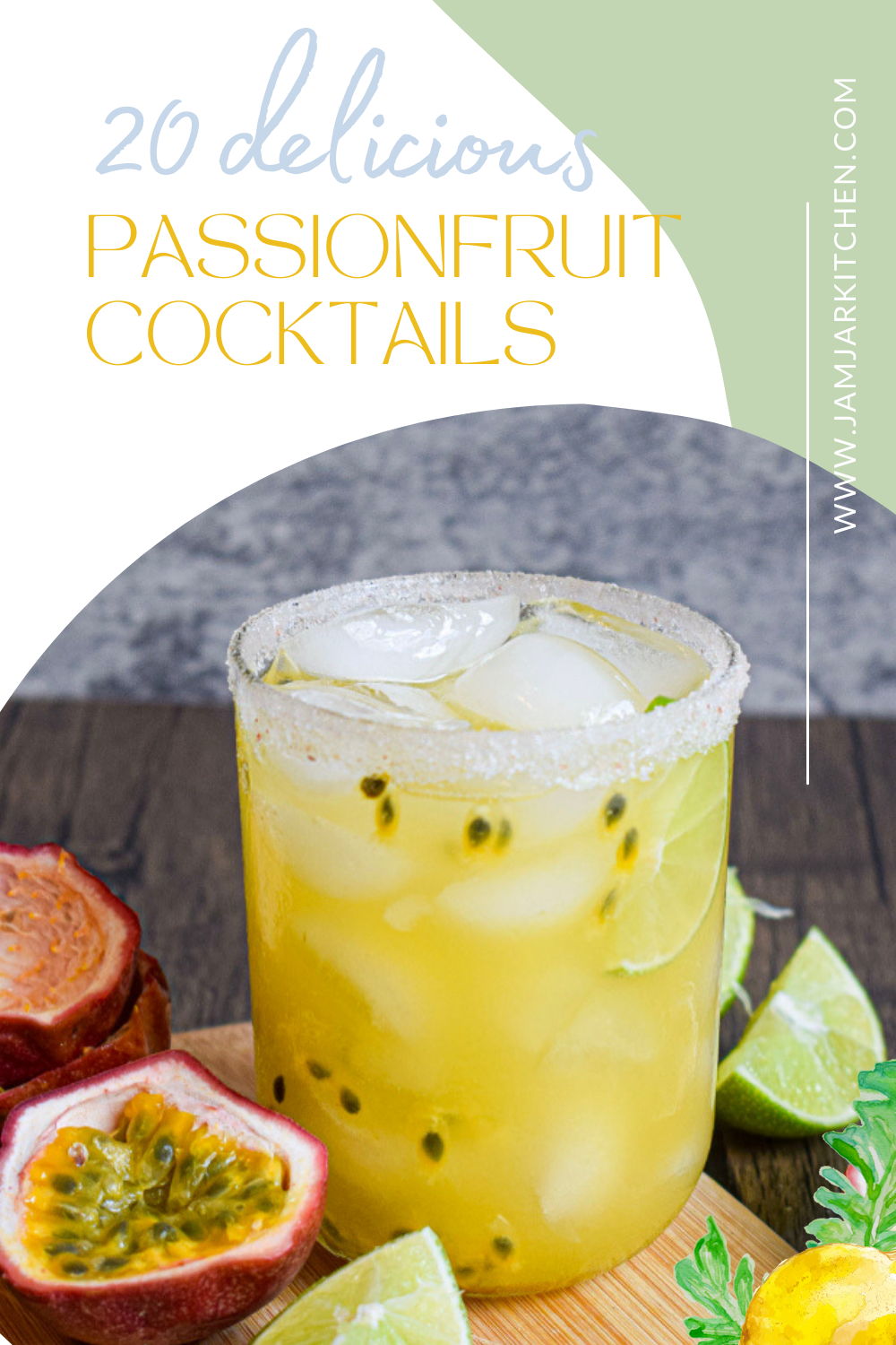20 recipes for delicious passionfruit cocktails