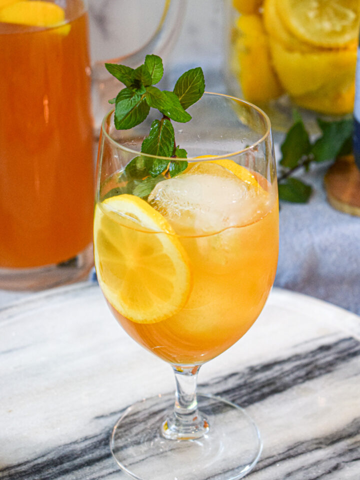 homemade arnold palmer iced tea lemonade