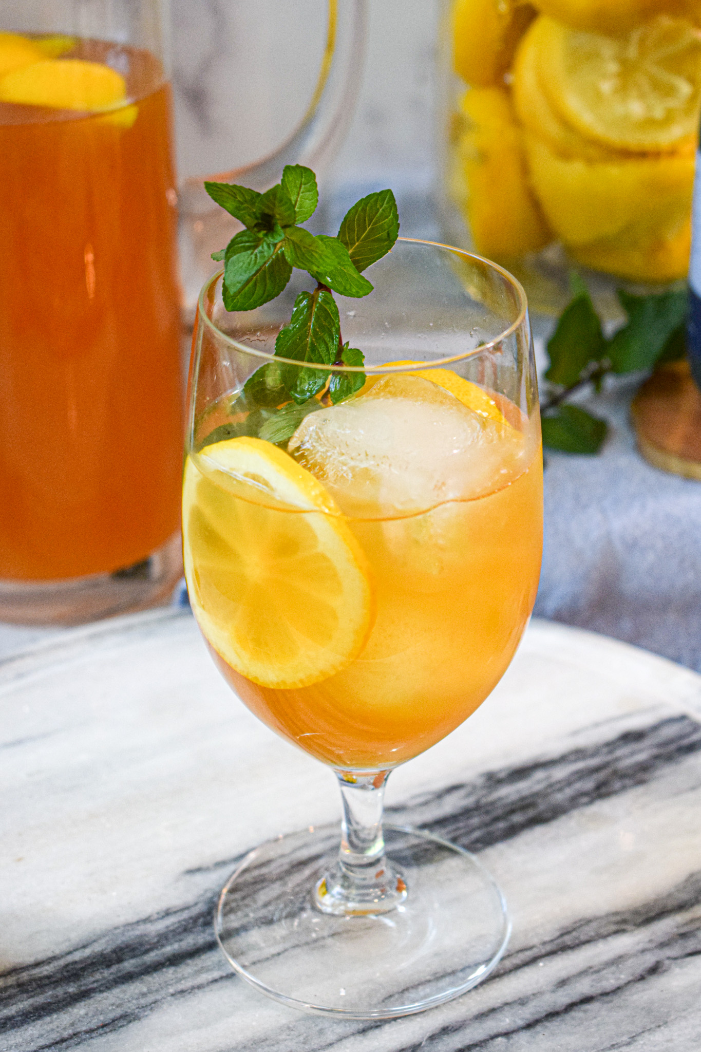 homemade iced tea lemonade recipe from scratch