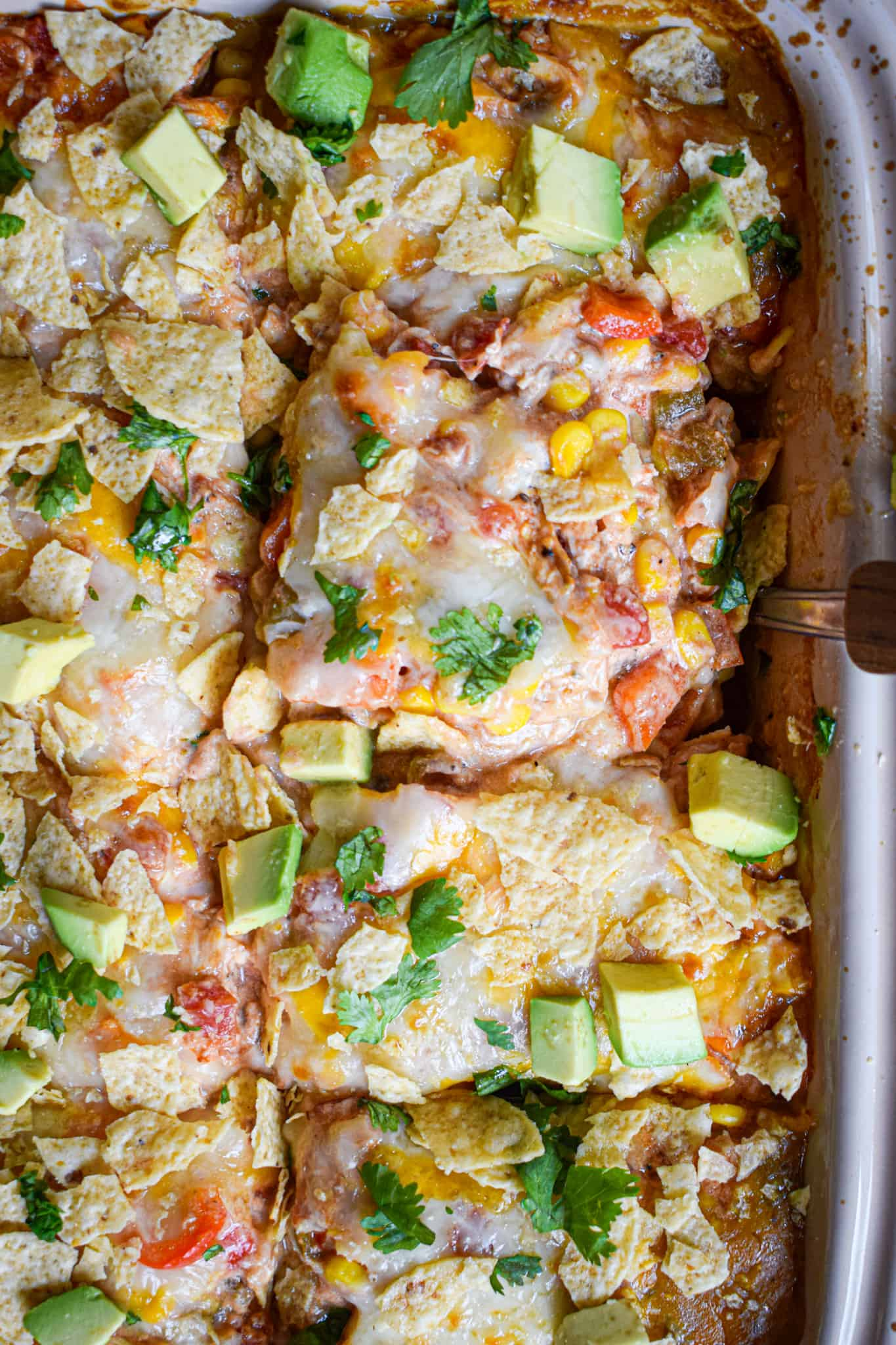 mexican casserole with chicken