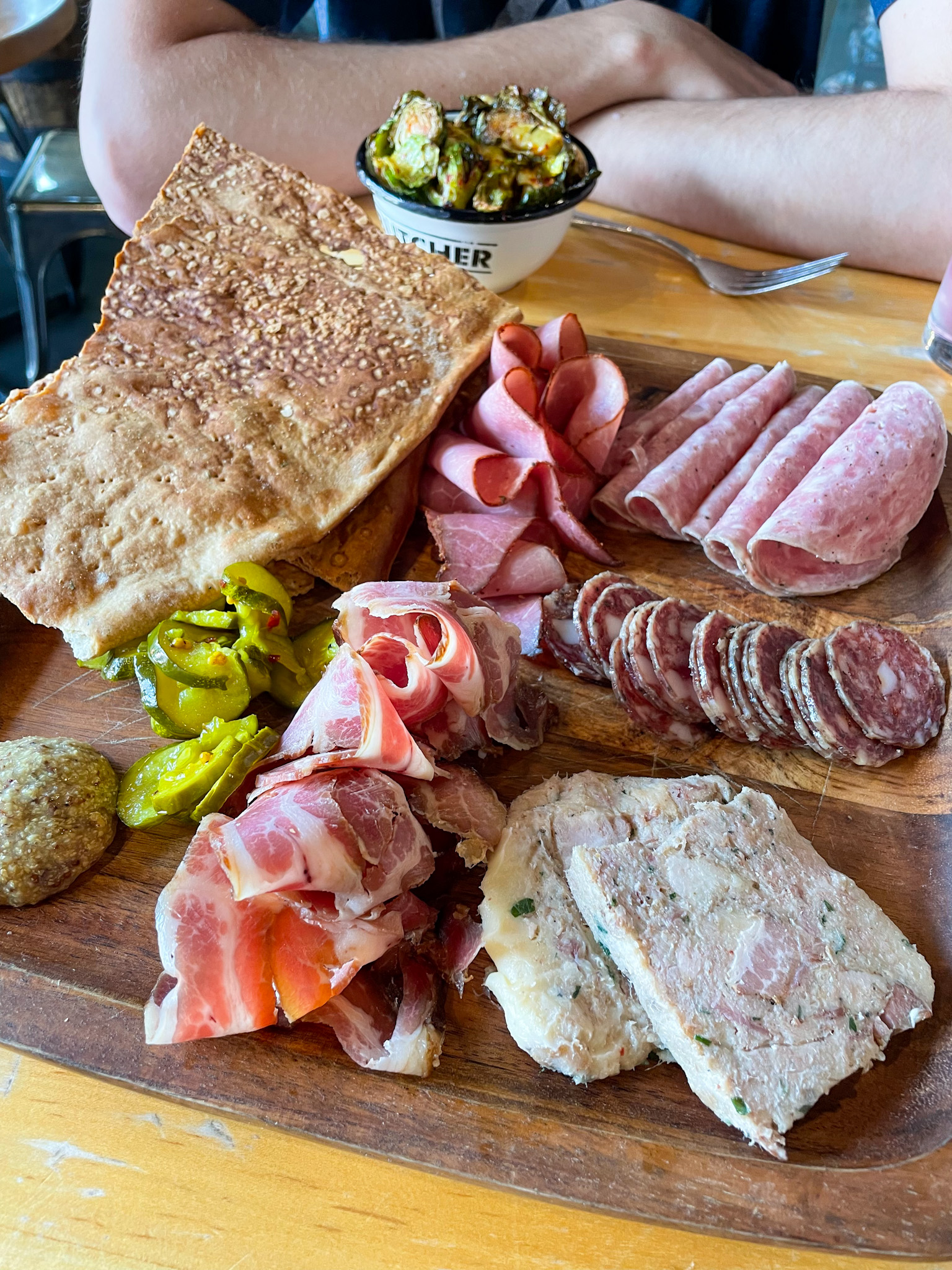 house made charcuterie at Cochon Butcher in New Orleans NOLA