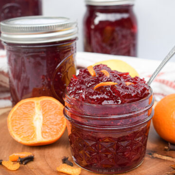 homemade cranberry sauce for canning