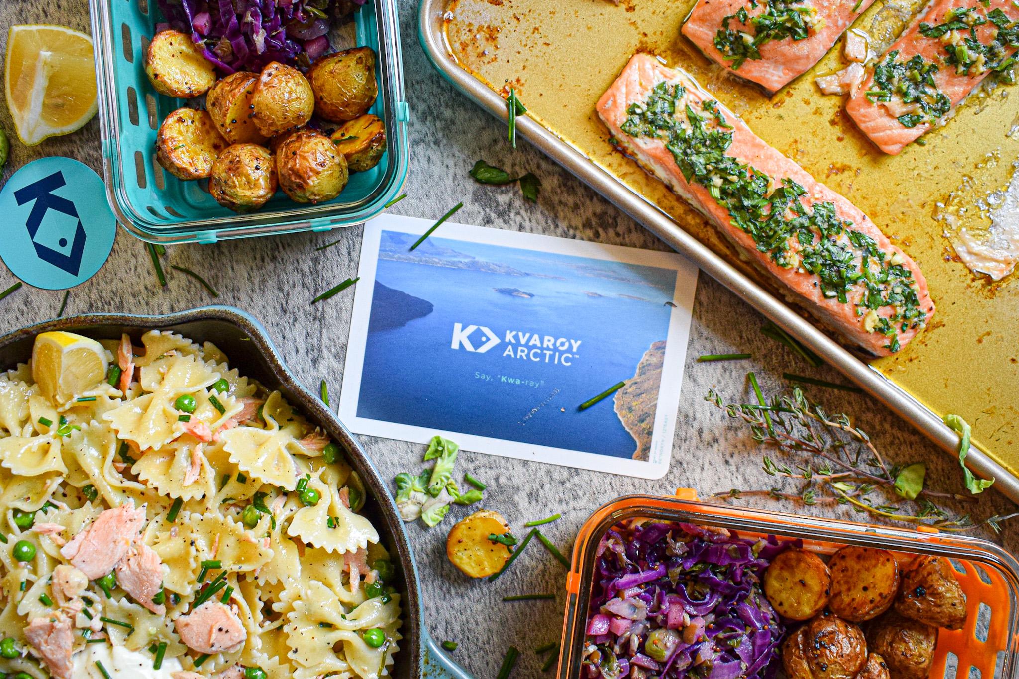 Kvaroy Arctic salmon for meal prep