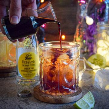 bloody tonic halloween cocktail recipe